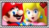 Mario x Peach Stamp