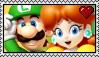 Luigi x Daisy Stamp