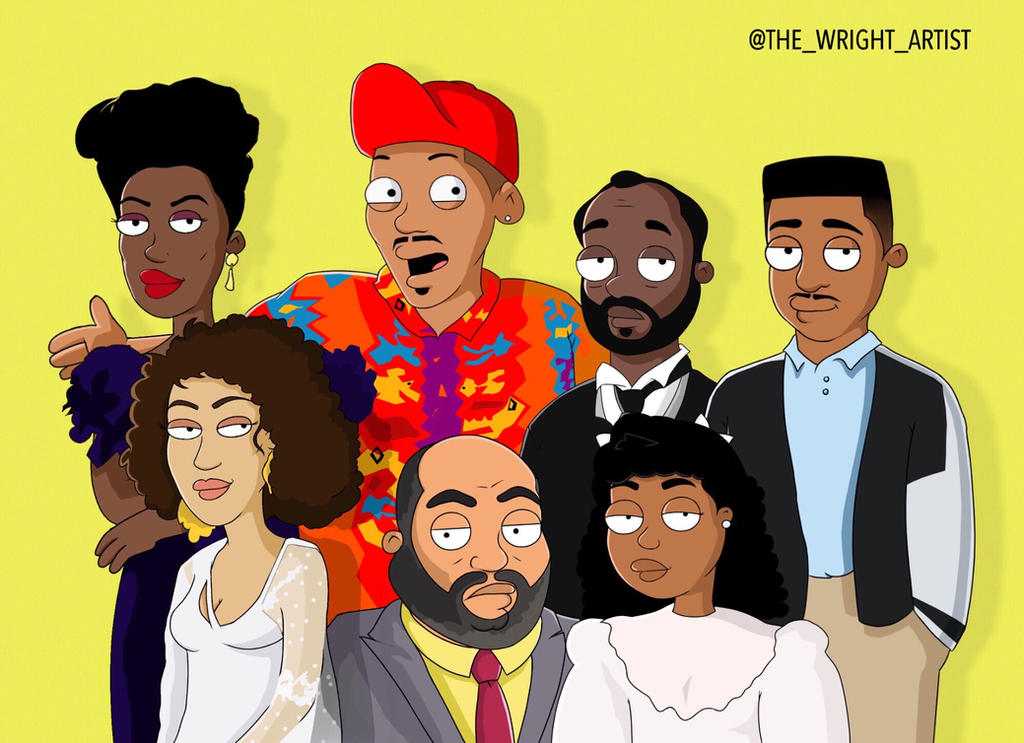 Family Guy x Fresh Prince Of Bel Air by Avatar1850