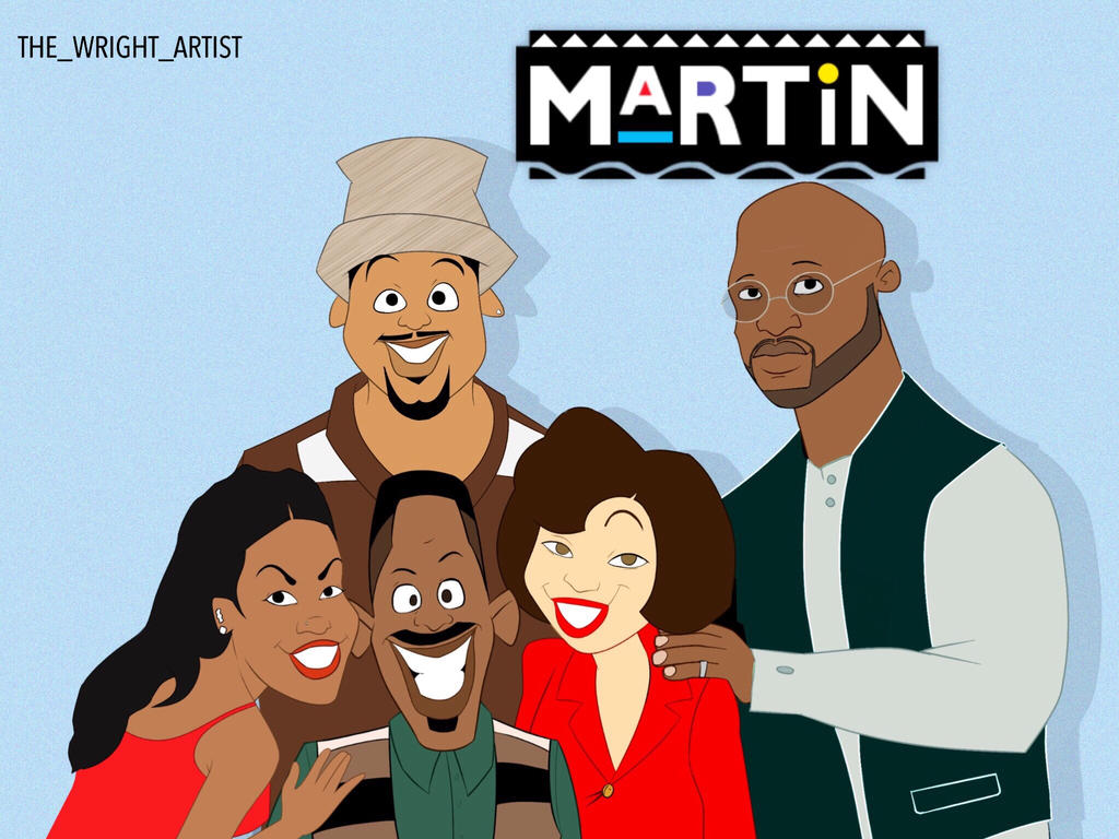 Martin x Proud Family by Avatar1850