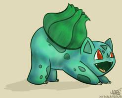 001: Bulbasaur by Mabelma