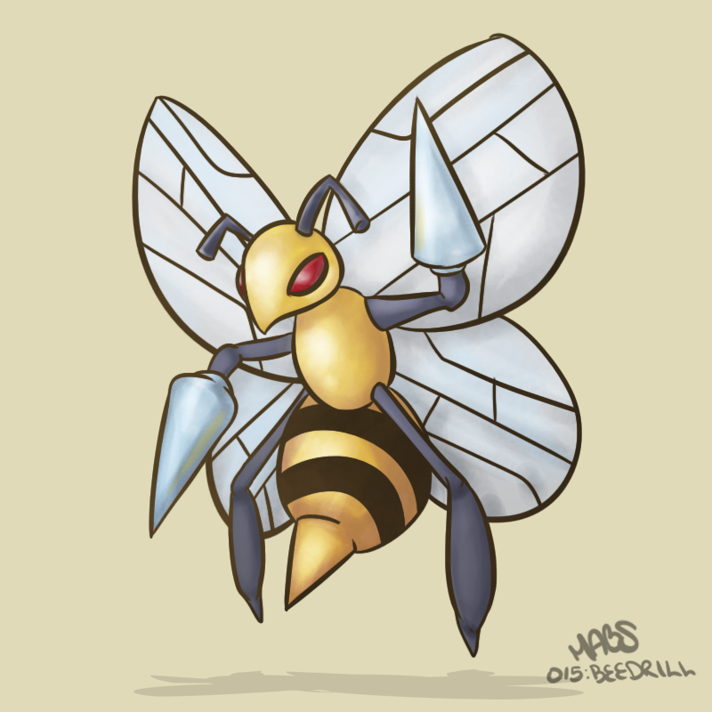 015: Beedrill by Mabelma