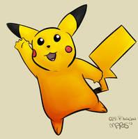 025: Pikachu by Mabelma