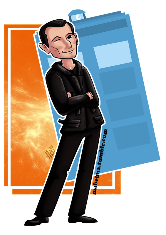 The ninth doctor. by Mabelma