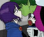 BBxRae First Kiss by P-M