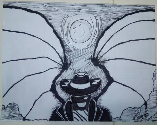 Jeepers Creepers INKTOBER 2020