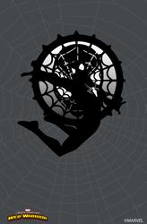 marvel's amazing world black suit spiderman