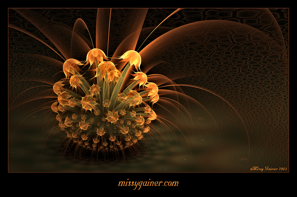Golden Flowers by MissyGainer