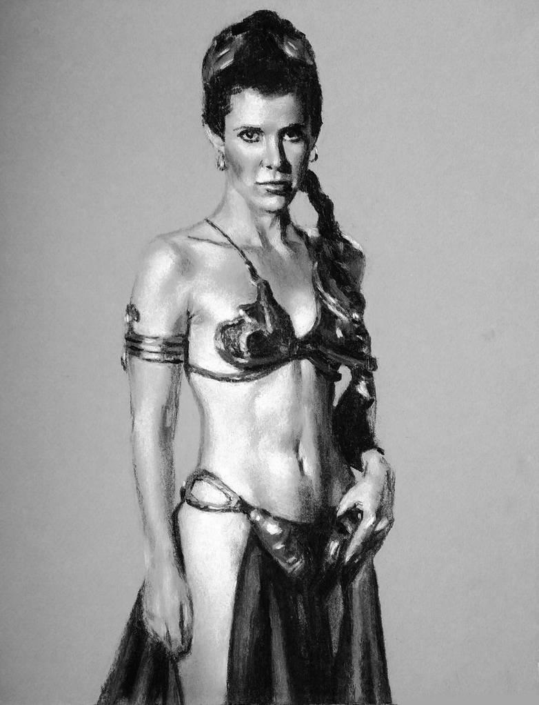Slave Leia by goticdraw