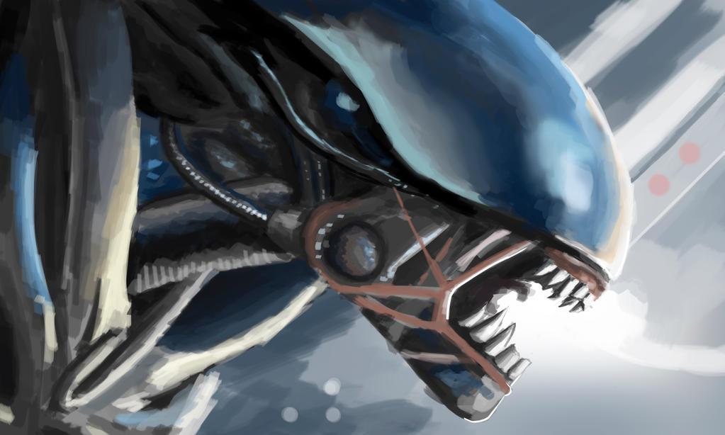 Alien - 1,5 Hours by ZDantroy