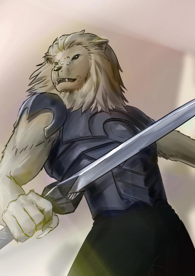 Lionman - OC Request by ZDantroy