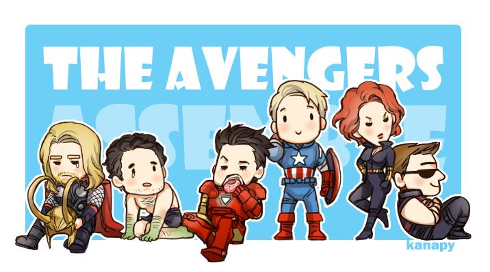 Avengers X Cute Reader