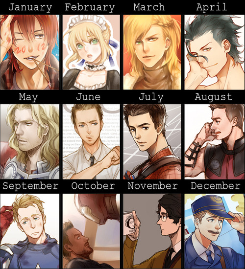 2012 Summary of Art by kanapy-art