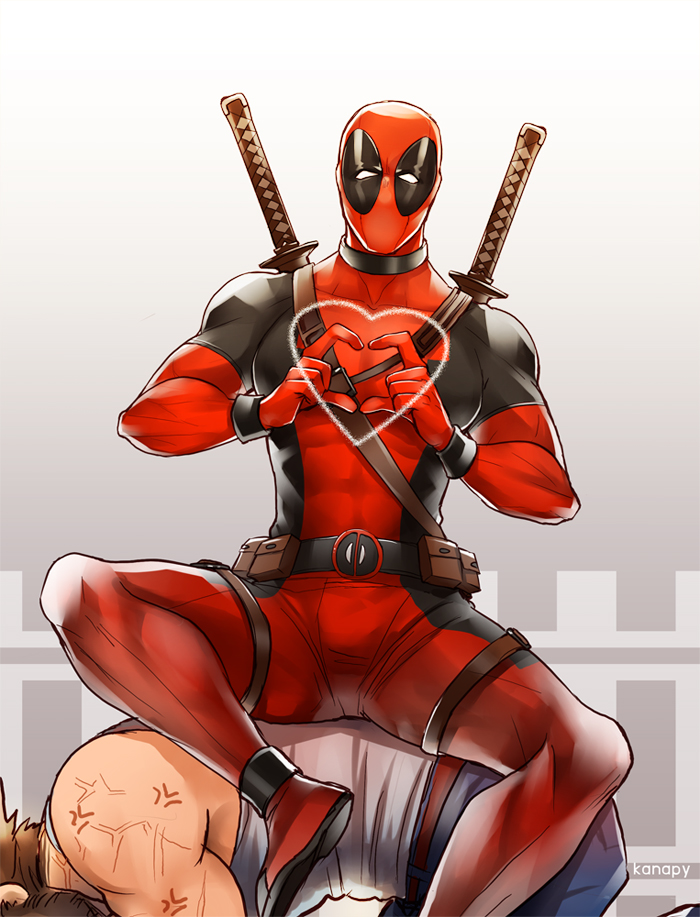 deadpool and wolverine by kanapy-art
