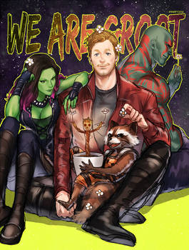 WE ARE GROOT