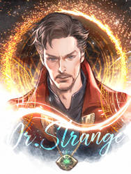 Dr.Strange by kanapy-art