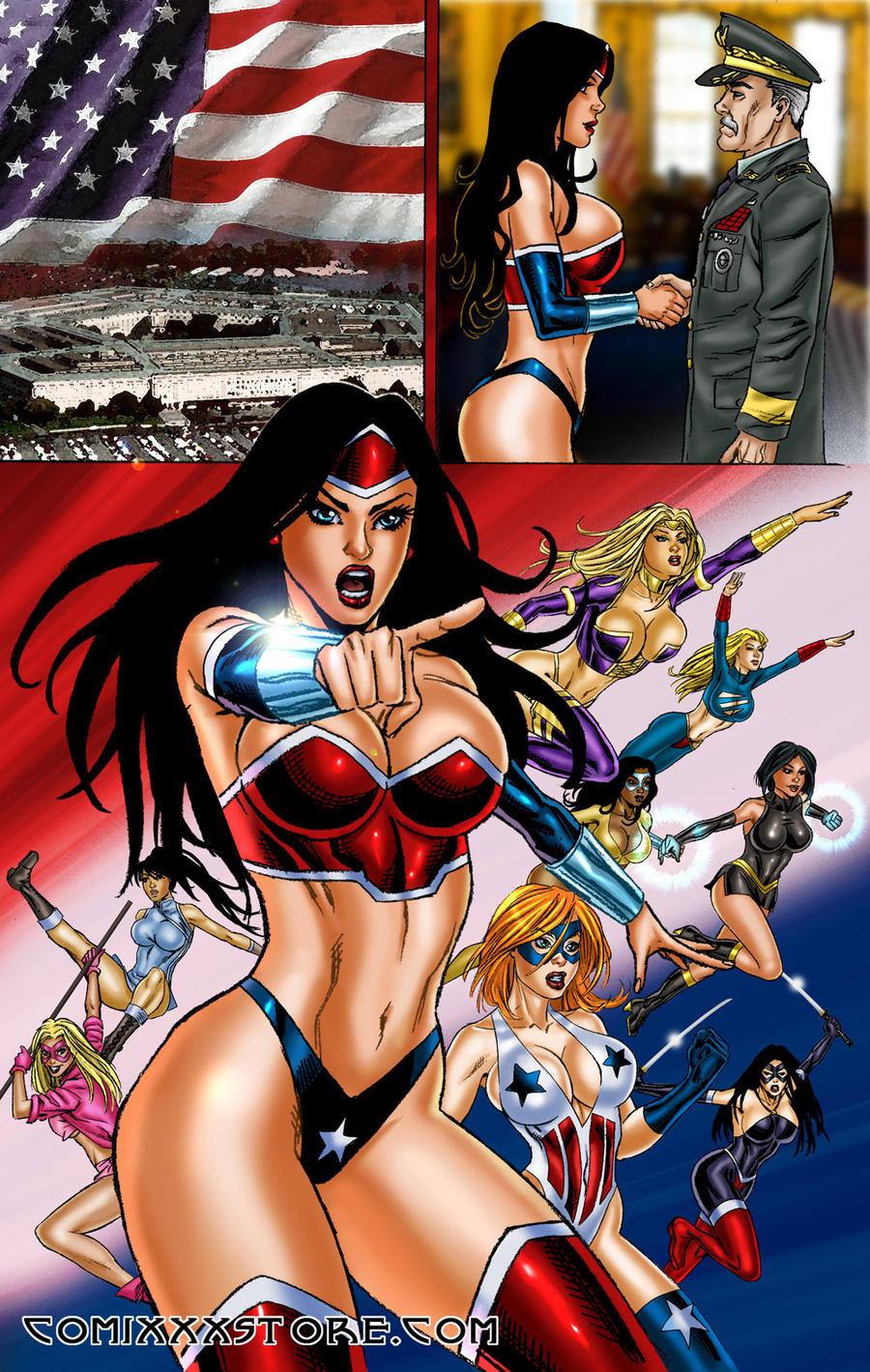 Lesbian super heroines submit part 2 7