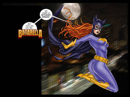 BATARELLA #0 available for FREE now!!! by Superheroine-Art