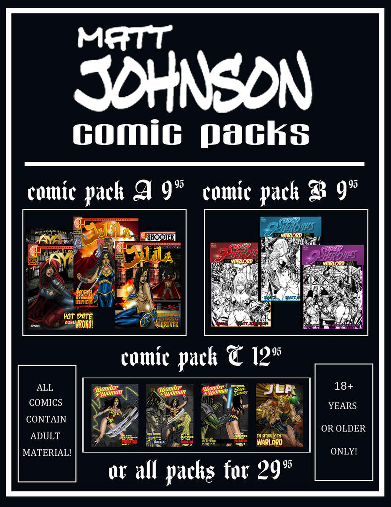 Sexy superheroine comic art matt johnson-2960