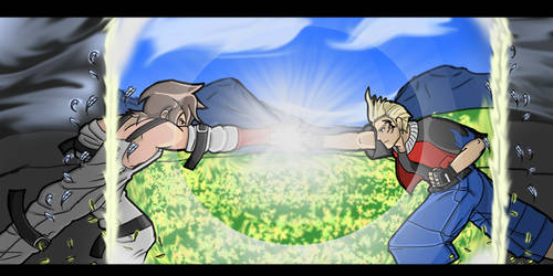Dissidia Aces Round One Entry by Godlis