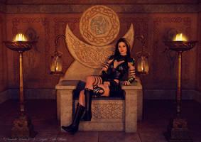 The Warrior Queen by Detniat