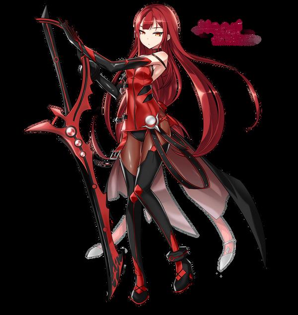 Kimitsuki's Berserk State Expansion Elsword___elesis___crimson_avenger_by_xnaari-d8hlxgn