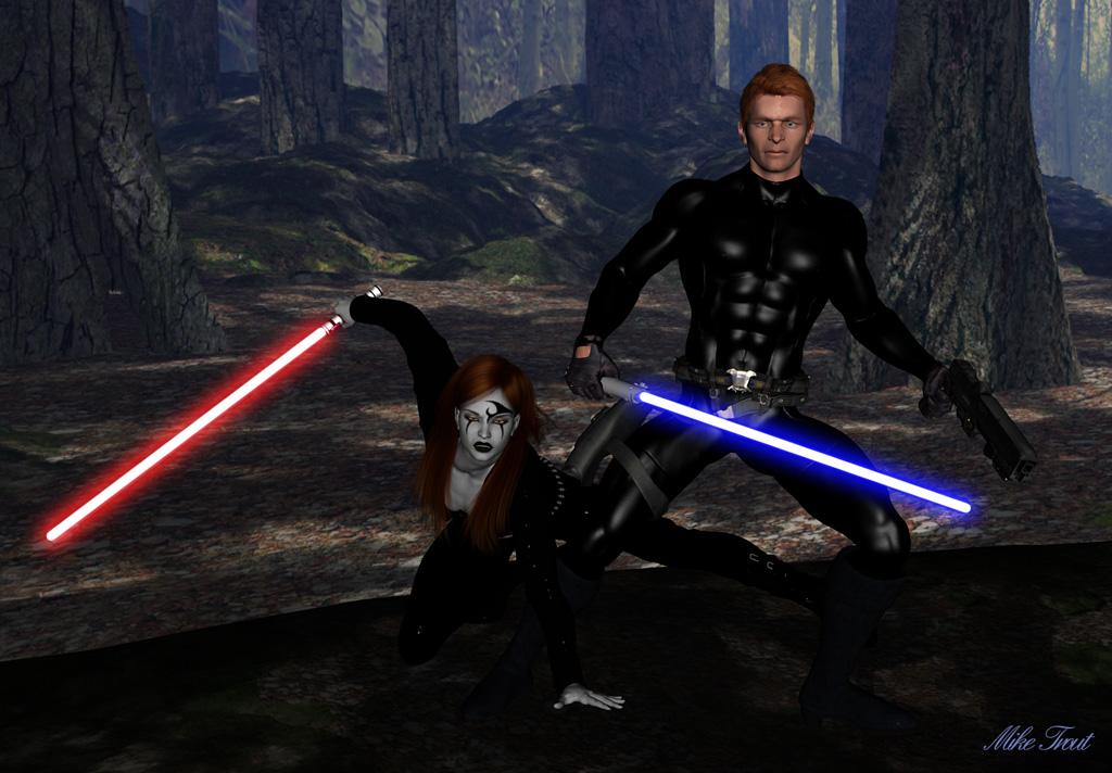 Ben Skywalker and Vestara Khai by mtrout65 on DeviantArt