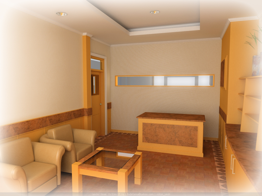 Interior Kantor by crearptive on DeviantArt