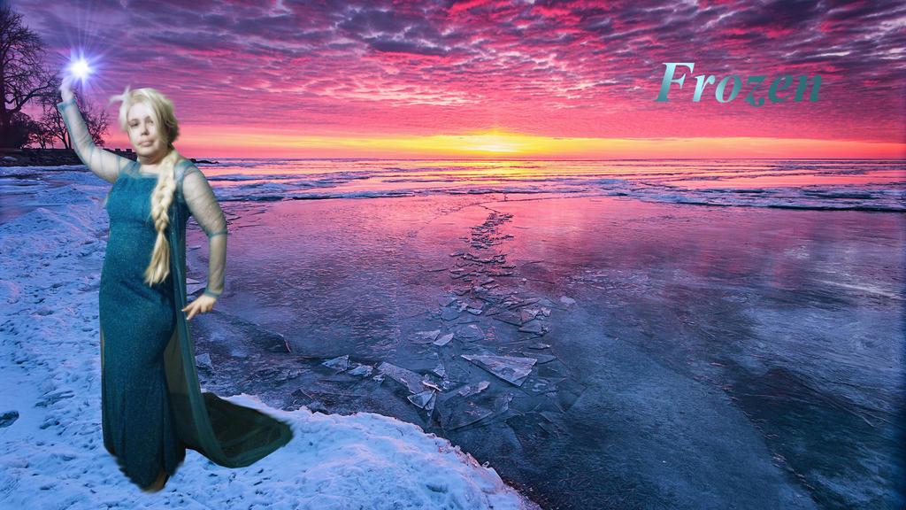 My icy world by Assara