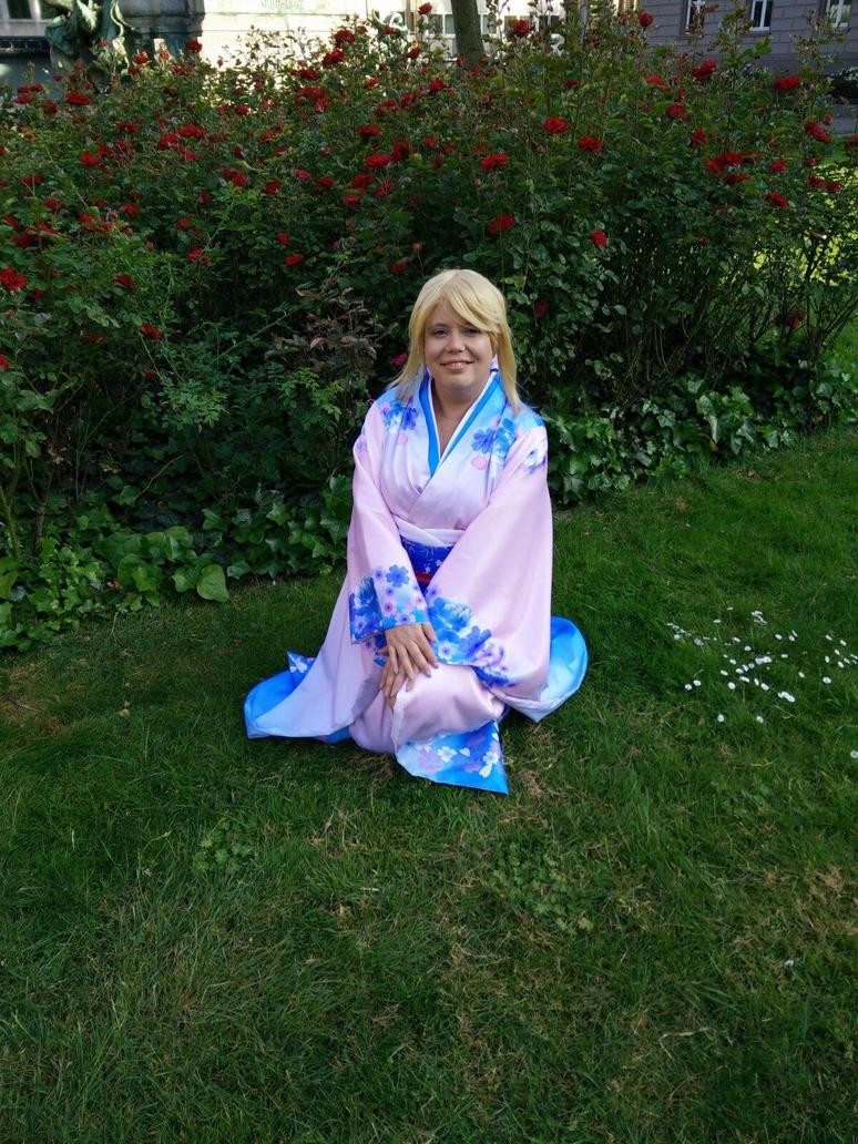 Saber - New Year Kimono by Assara