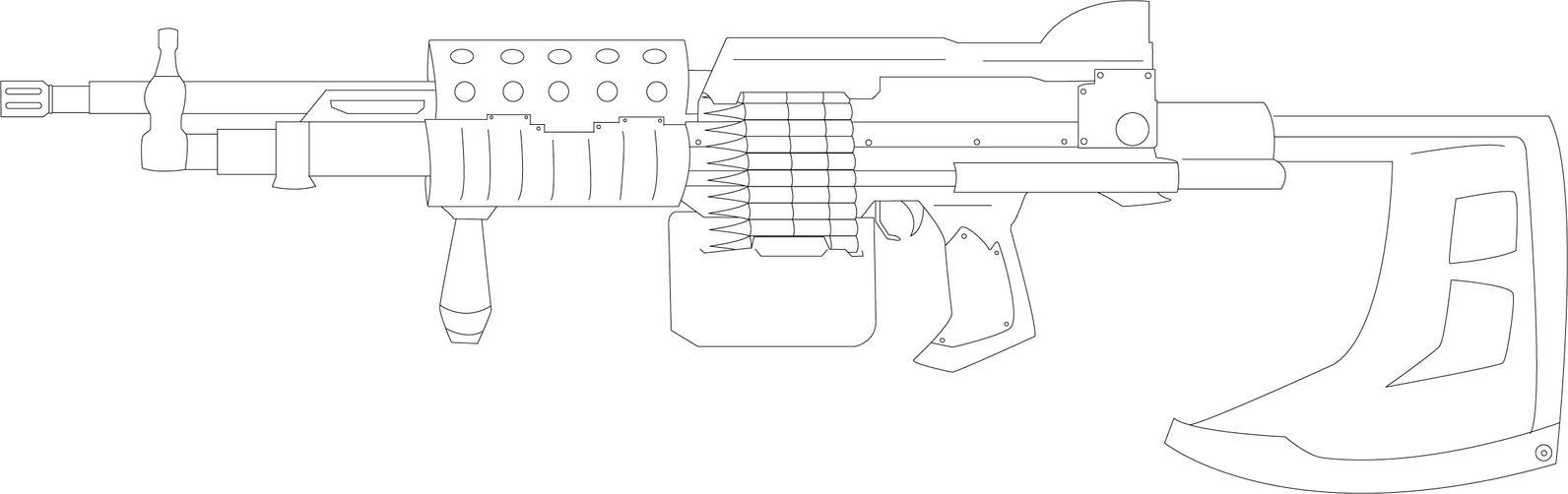 machine gun designs
