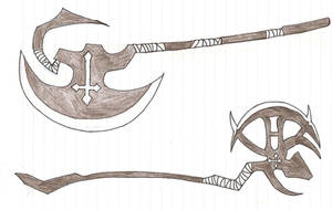 Weapon - Axe by Bomb18