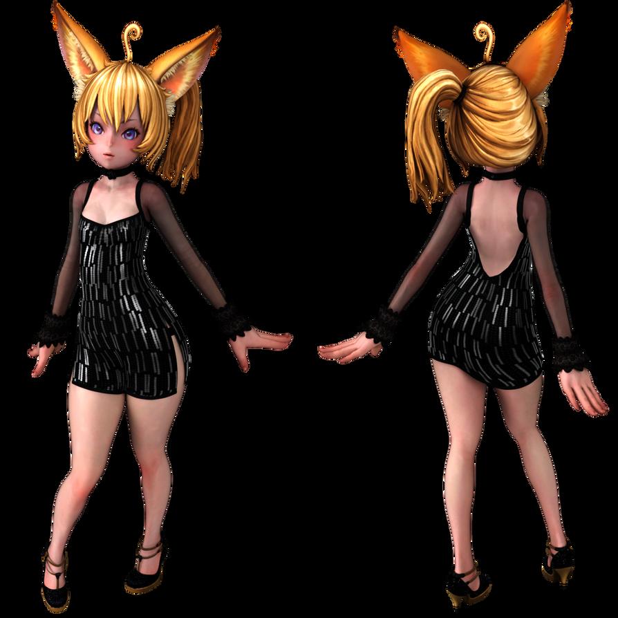 Blenderella Character Modeling In Blender 2 5 Download : Elin event ver by vlthar on deviantart