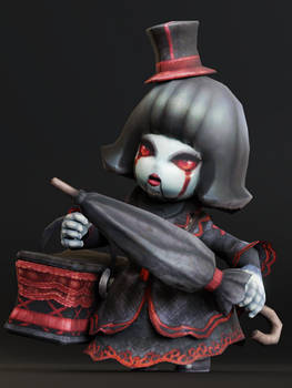 Bisque Doll Lady