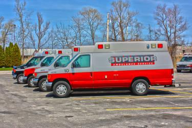 Highland Ambulance Fleet by KC9LEA