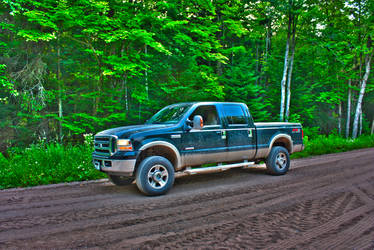 2006 F350 Forest HDR TEST by KC9LEA
