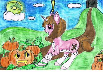 Not My Oc But I Drew This by SilverLeafPONIES