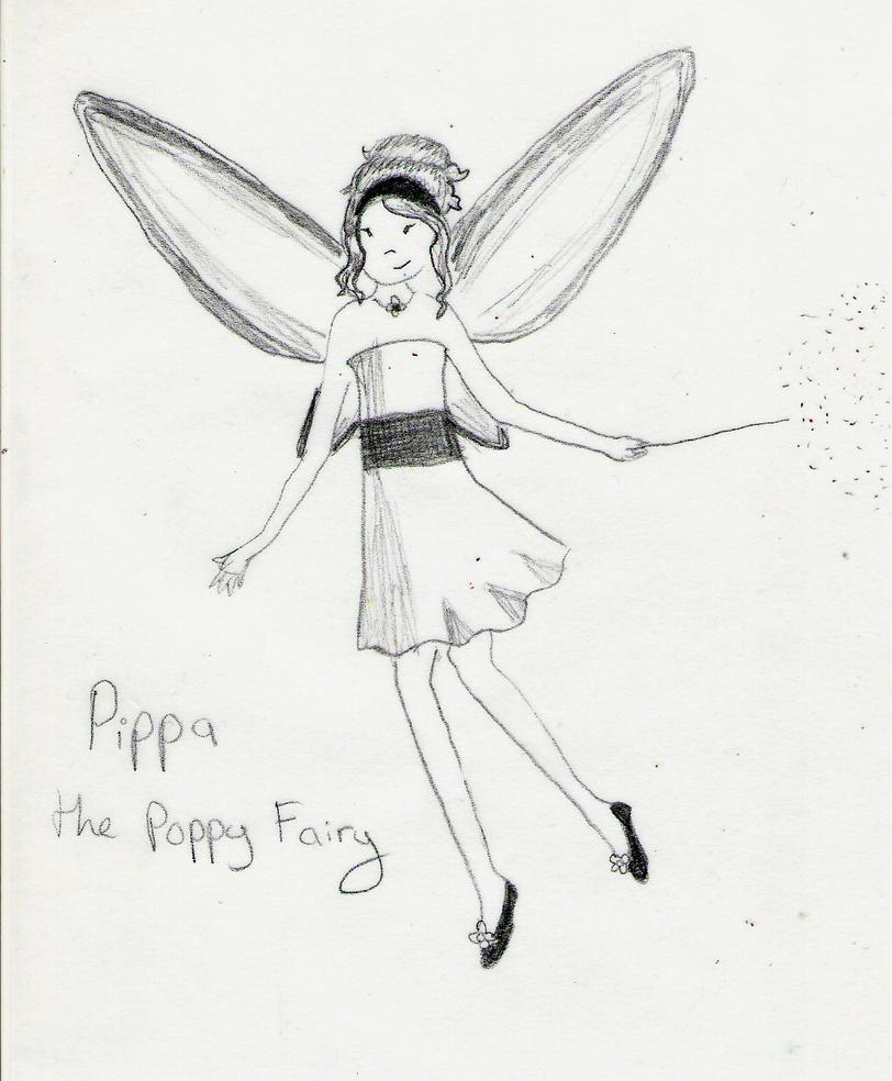 pippa the poppy fairy by beautifulshininghope on deviantart
