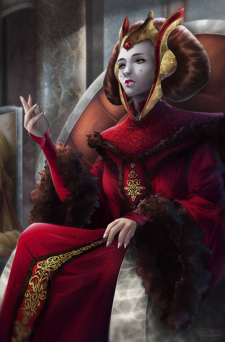 Padme Amidala by Totemos on DeviantArt