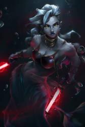 Dark Saalia - Star Wars OC by Totemos