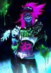 K/DA Akali - I'm a goddess with a blade