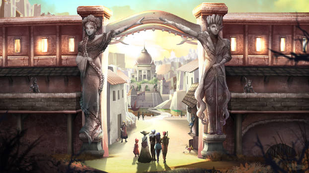 Arrival at the city - Epic Journey