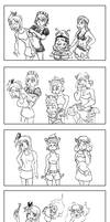 Cosplaying characters