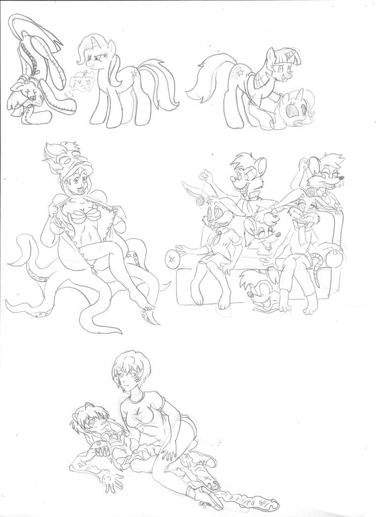 sketches november 2014 by Vytz