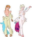 Anna And Elsa To Hippogryph 3
