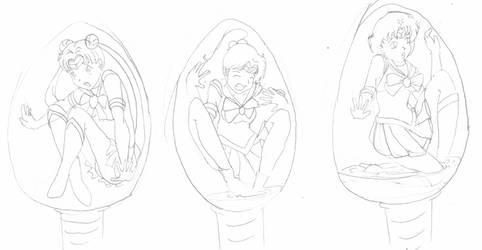 Choclate Eggs Sailors 1