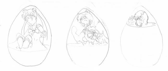 Choclate Eggs Sailors 2