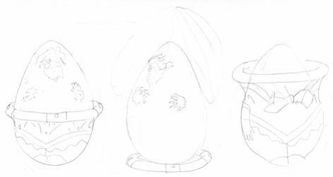 Choclate Eggs Sailors 3