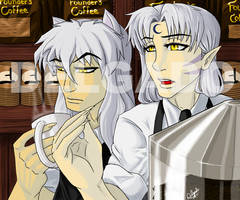 Barista and Sommelier by TerriTheSketcher