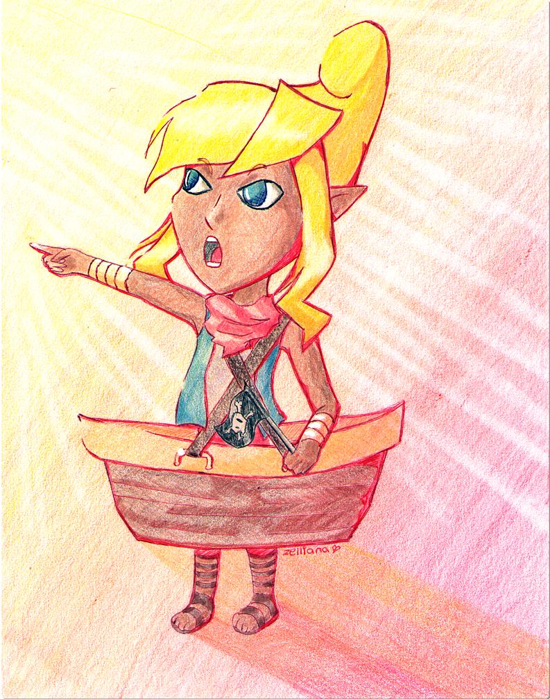 To sail the seas, everybody! by Zelliana